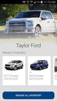 Taylor Ford poster