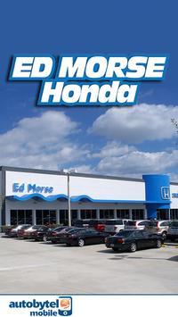Ed Morse Honda poster
