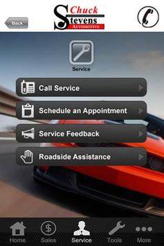 Chuck Stevens Automotive apk screenshot