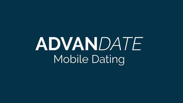 AdvanDate Mobile Dating App poster