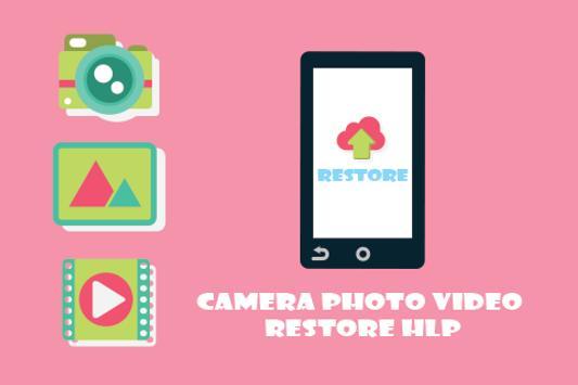 Camera Photo Video Restore HLP poster