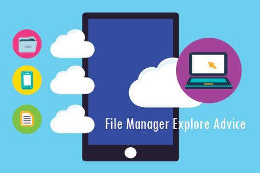 File Manager Explore Advice apk screenshot