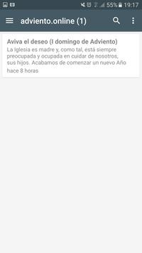 Adviento 2016 apk screenshot
