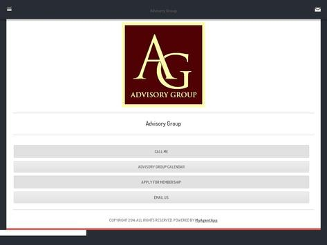 Advisory Group apk screenshot