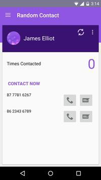 Random Contact apk screenshot