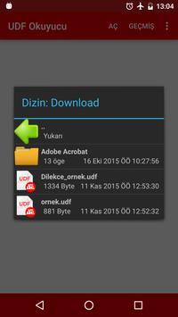 UDF Okucuyu Beta apk screenshot