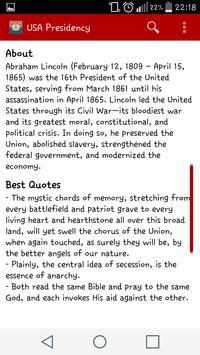 USA Presidency Ranking apk screenshot