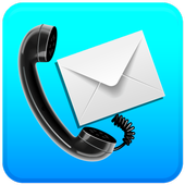 Missed Call & SMS to email icon