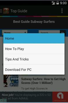 Top Guide for Subway Surfers poster