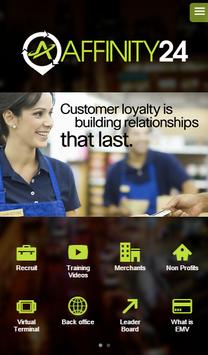 Affinity24 Sales Rep App poster