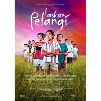 Novel Laskar Pelangi poster