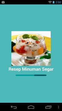 Resep Minuman Segar poster