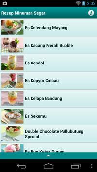 Resep Minuman Segar apk screenshot
