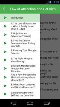 Law of Attraction and Get Rich apk screenshot