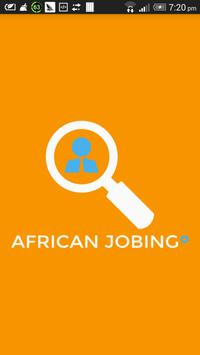 African Jobing poster