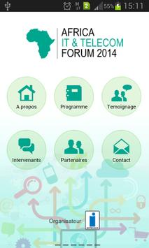 Africa It and Telecom Forum poster