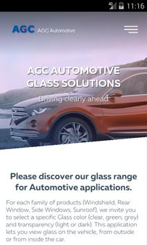 AGC Automotive EU Glass Range poster