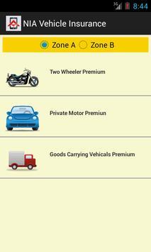 Vehicle Insurance Calculator poster