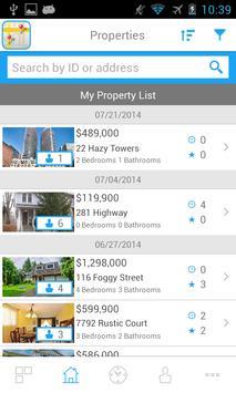 AgentFlux search home & share! apk screenshot