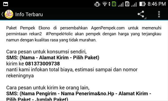 AgenPempek apk screenshot