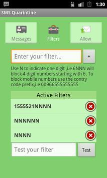 SMS Quarantine (Not 4 Kitkat) apk screenshot