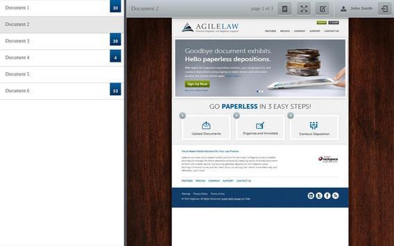 AgileLaw apk screenshot