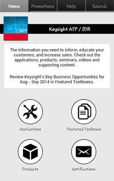 Keysight ATP IDR Library poster