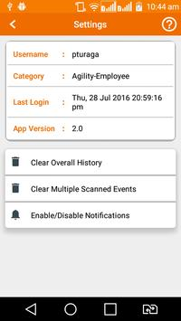 Agility Delivers apk screenshot