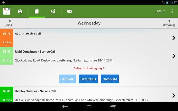 routeMASTER Dispatch apk screenshot