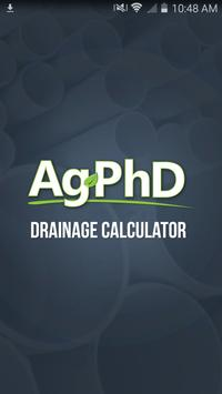 Drainage Tile Calculator poster
