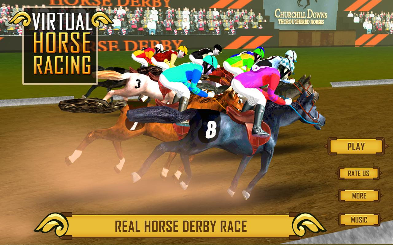 free virtual horse racing games