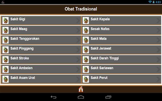 Obat Tradisional apk screenshot
