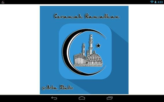 Ceramah Ramadhan apk screenshot
