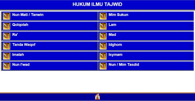 Hukum ilmu tajwid apk screenshot