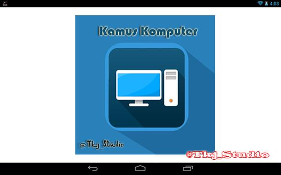 Kamus Komputer apk screenshot
