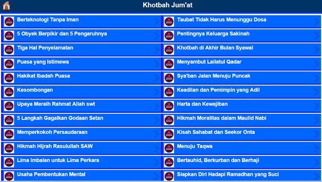 Khotbah Jumat apk screenshot