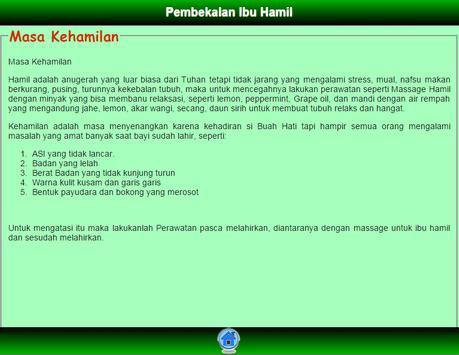 Pembekalan Ibu Hamil apk screenshot