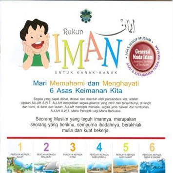 Rukun Iman poster