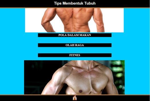 Tips Membentuk Tubuh Ideal apk screenshot