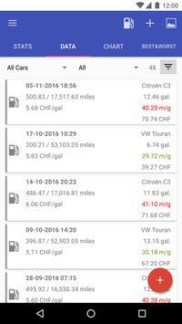My Cars (Fuel logger++) apk screenshot