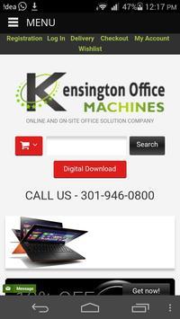 Kensington Office Machines poster