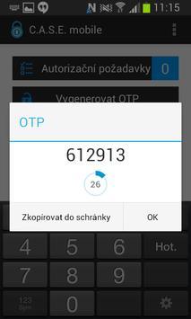 CASE mobile apk screenshot