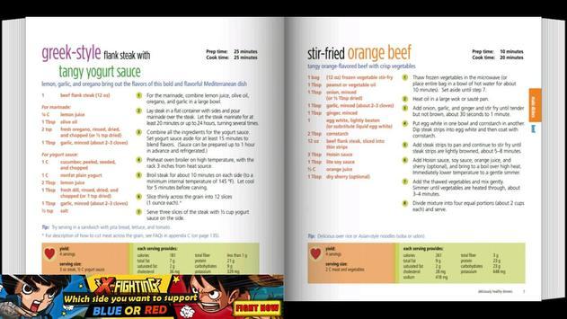 Healthy Dinner Recipes apk screenshot