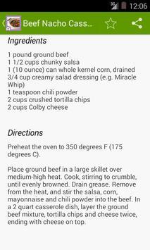 Beef Casserole Recipes apk screenshot