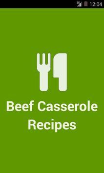 Beef Casserole Recipes poster
