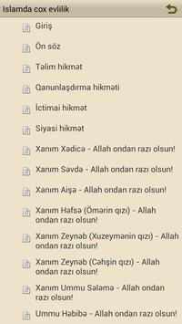 Islamda cox evlilik (subheler) apk screenshot