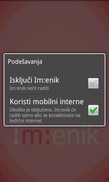 Imenik apk screenshot