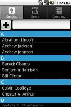 Contacts Plus apk screenshot
