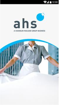 AHS Hospitality poster