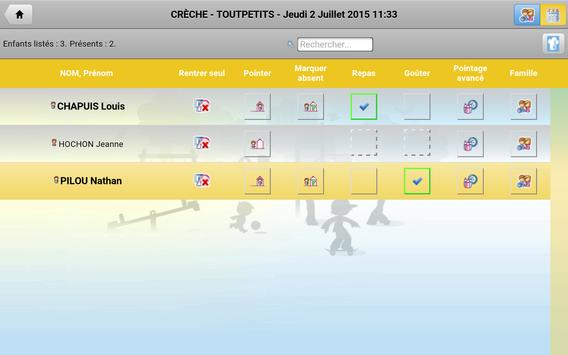 Pointage Noé apk screenshot